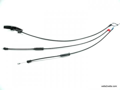 89-96 Corvette C4 Convertible Top Release Cable Set